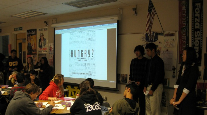 American Studies students campaign for change at MVHS