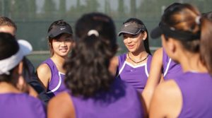 Girls Tennis: Key win at Saratoga caps undefeated season