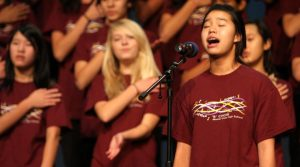 """Choirs debut with """"All You Need is Love"""" concert"""