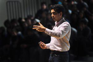 VIDEO: Salman Khan speaks to students, staff on Jan. 6