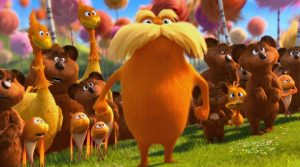 """MOVIE: """"The Lorax"""" is a fun watch, but not memorable"""