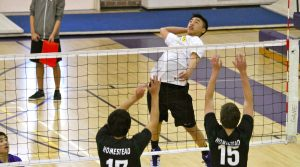 Boys volleyball: Strong all-around play, win over Homestead