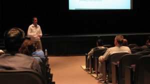 Olympic psychologist holds seminar for MVHS track team