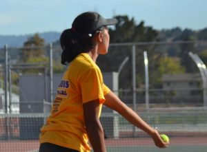 GIRLS TENNIS: MVHS defeats Milpitas High School 5-2