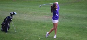 GIRLS GOLF: One stroke away from first win