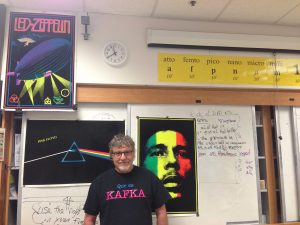 Chemistry teacher Mike McCrystal details passion for jazz