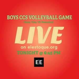 Boys Volleyball: LiveStream of CCS quarterfinals begins at 6:30