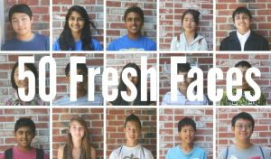 New on campus: 50 Fresh Faces