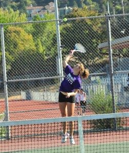 GIRLS TENNIS: MVHS defeats Burlingame High School 7-0