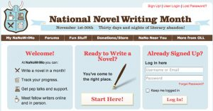 Aspiring authors team up to take on NaNoWriMo