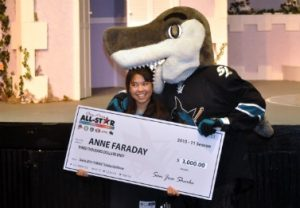 Senior scores Sharks scholarship