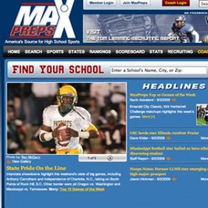 Football season preparation with Maxpreps