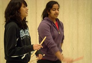 Dancing with the Raas team