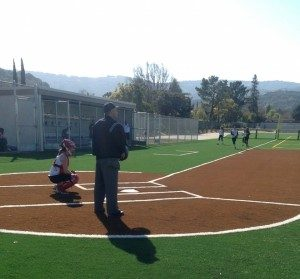 Girls softball: Weak offense in first league game leads to no-hitter