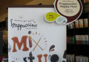 Food: Starbucks Happy Hour provides half-price delights