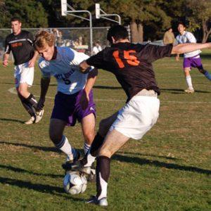 Varsity Soccer loses a close game to Los Gatos