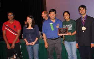 MVHS freshman wins multiple awards at Synopsys Science Fair