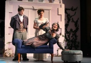 Theatre: Vanity and pride pave the way for love
