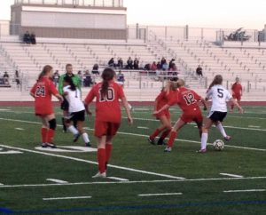 Girls soccer: First win motivates team for league games