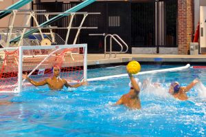 Boys water polo: Team loses 20-8 to Gunn High School