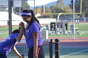 Girls tennis: Team bounces back with a strong win against Los Gatos High School