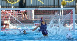 Photo Gallery: Girls water polo defeated by the Harker School on senior recognition night