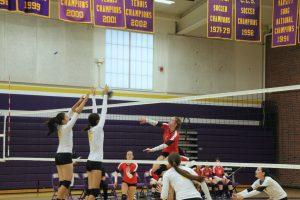 Girls volleyball: Team defeats Gunn HS 3-2 in first match of the season