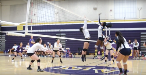 Girls volleyball: Matadors uphold their undefeated league record against the Trojans