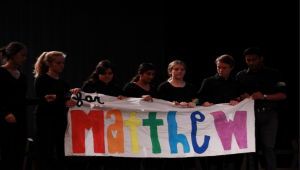 "Drama's ""The Laramie Project"" moves audience with the true story of Matthew Shepard"