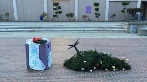 A Christmas tree wearing an inclusivity cloak is still a Christmas tree