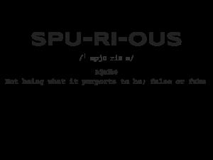 Spurious: Students adopt alternative identities