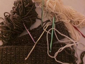Crochet for dummies: How to do the single crochet stitch