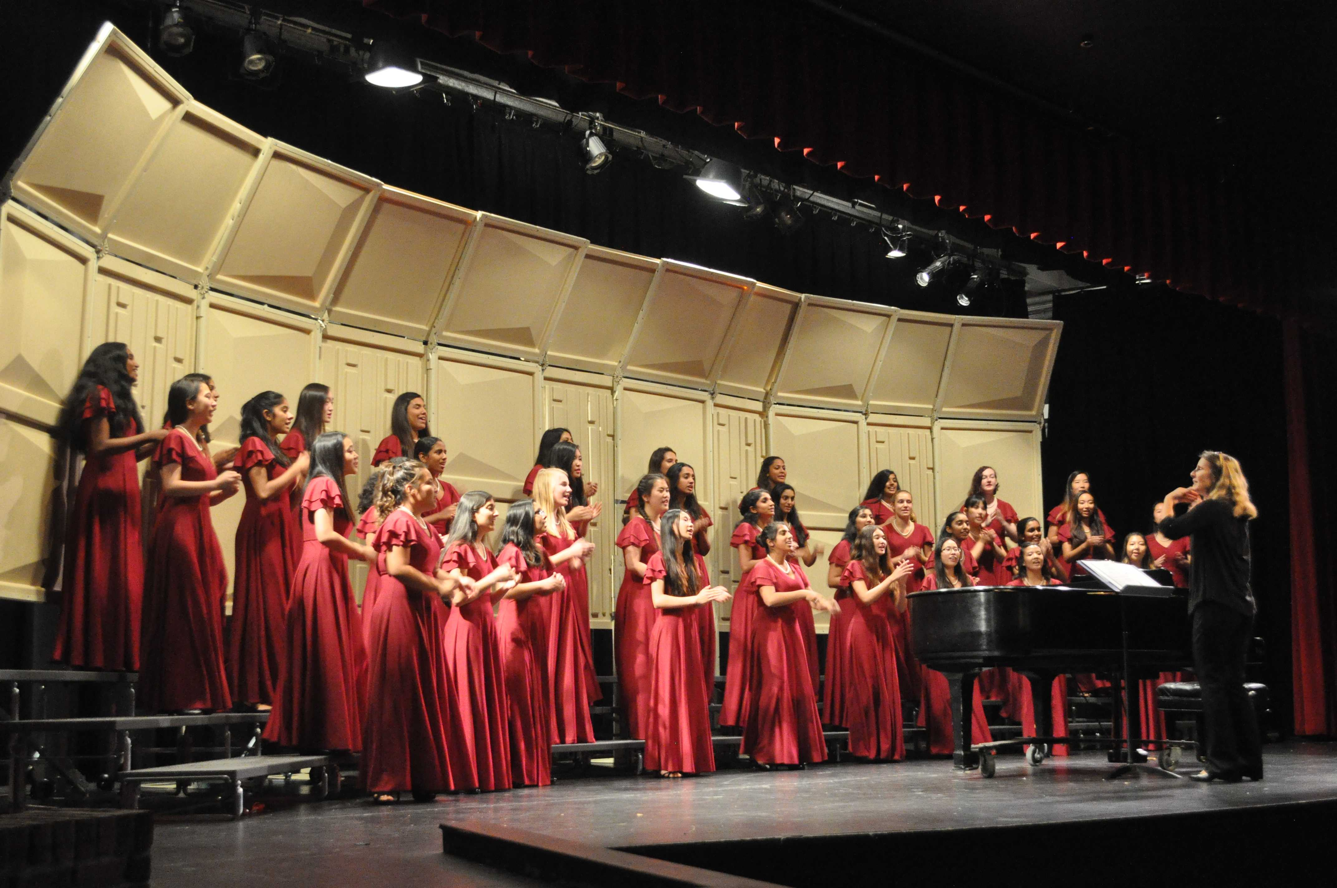 FUHSD choirs gather for intra-district concert