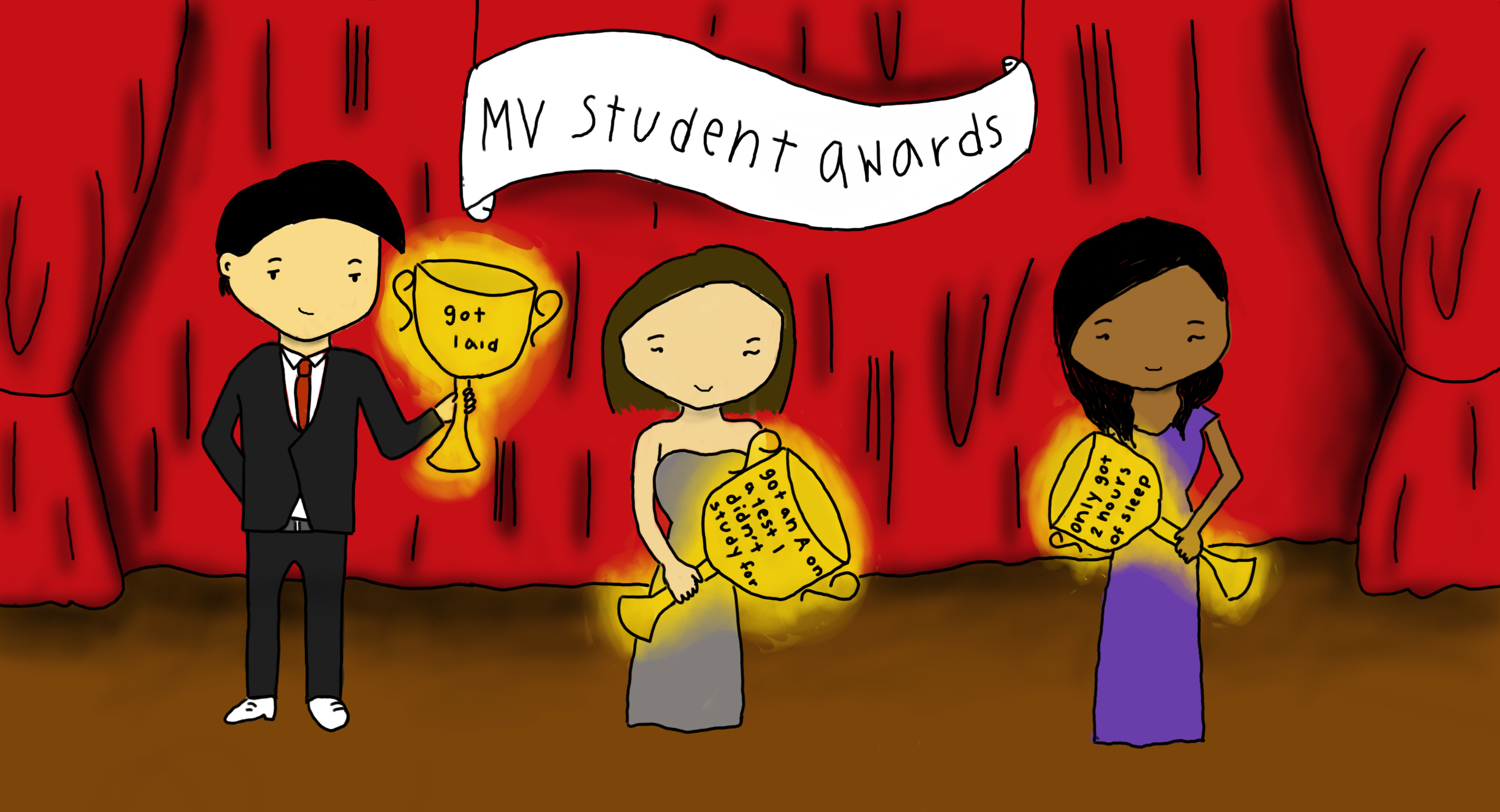Trophy students: What we brag about
