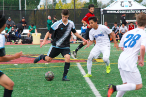 Taking their shot: Two players pursue soccer at the Academy