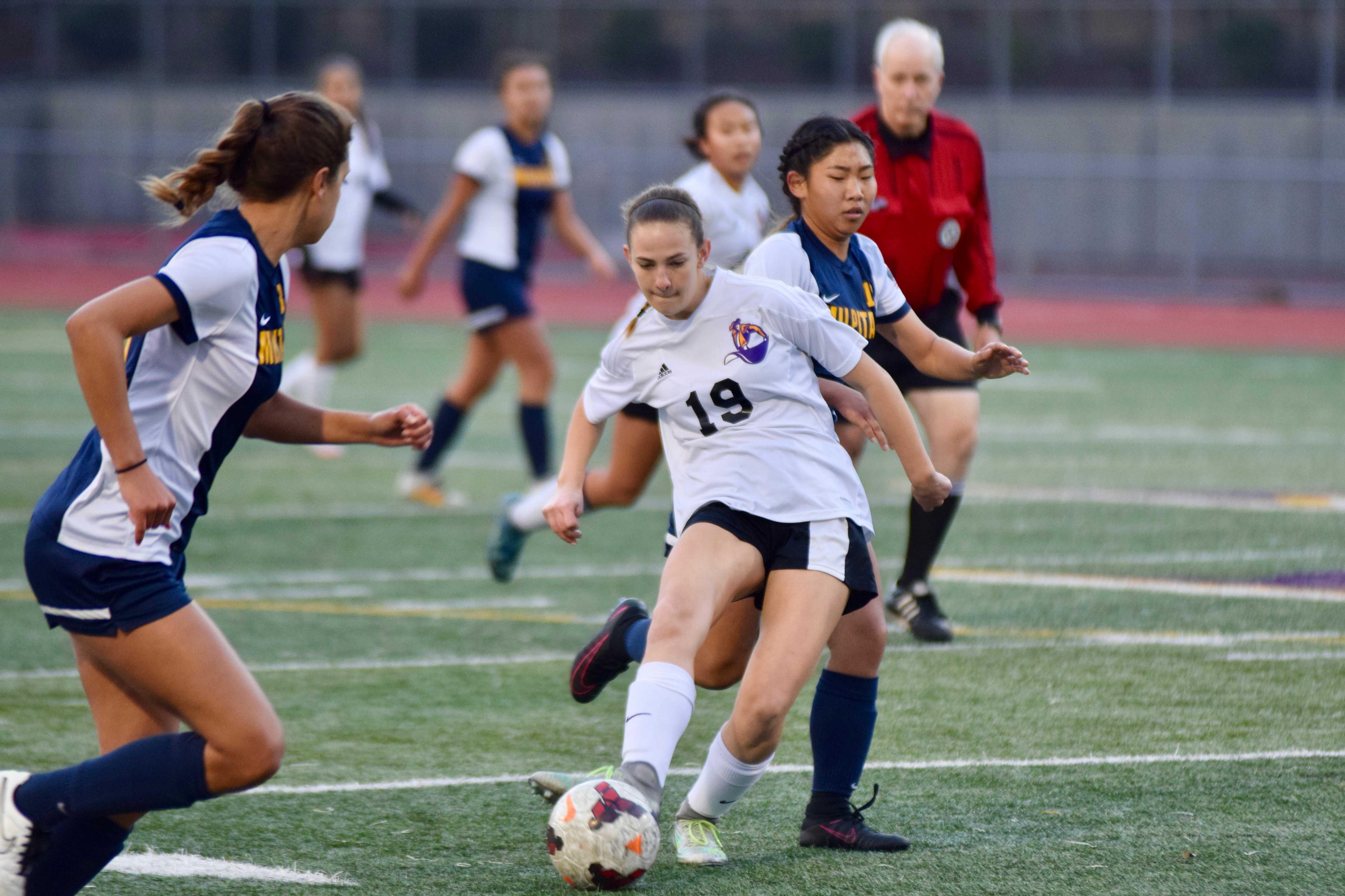 Girls Soccer: Loss against opponent Milpitas HS