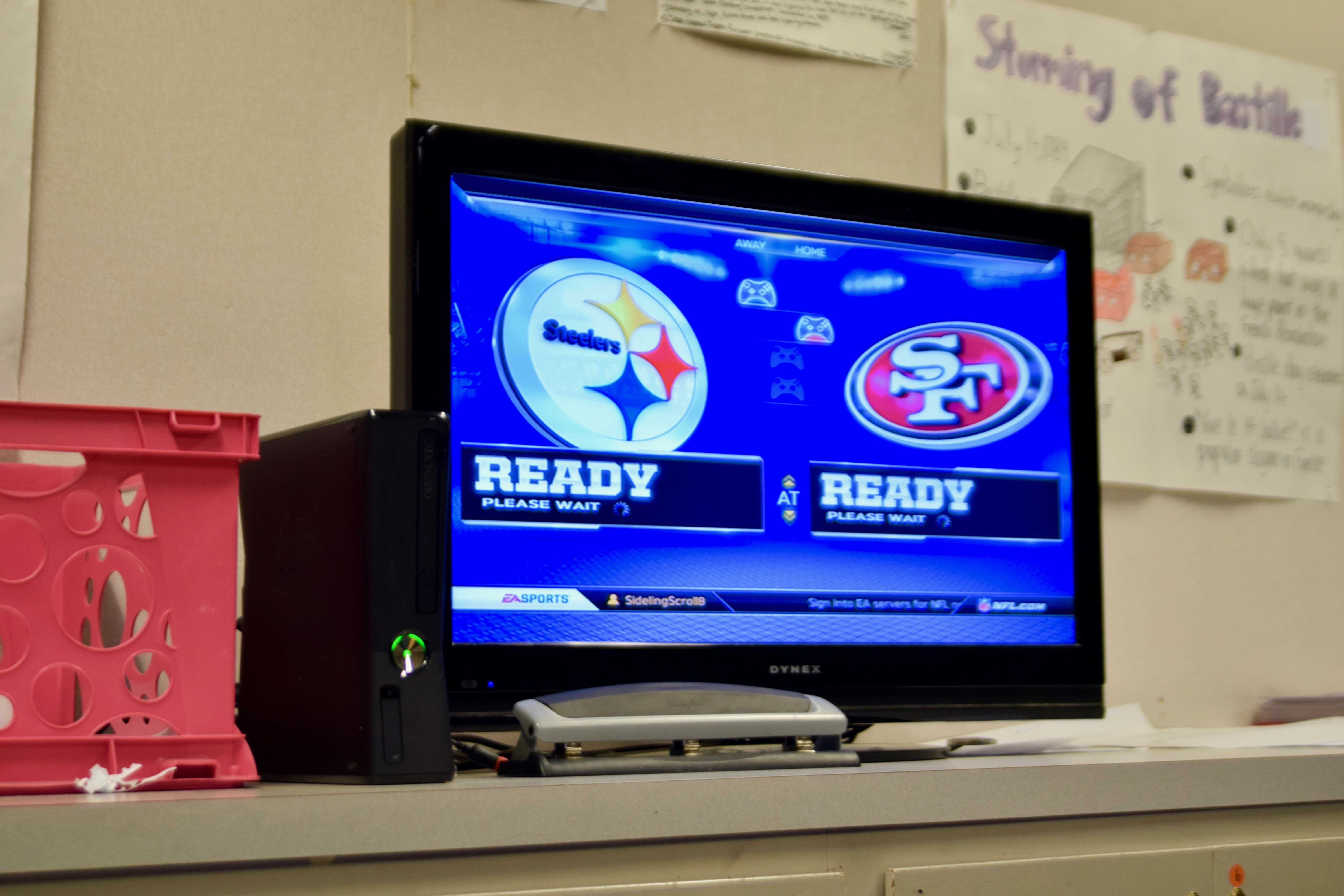 MVHS football's finest: Inside the lunchtime Madden bracket