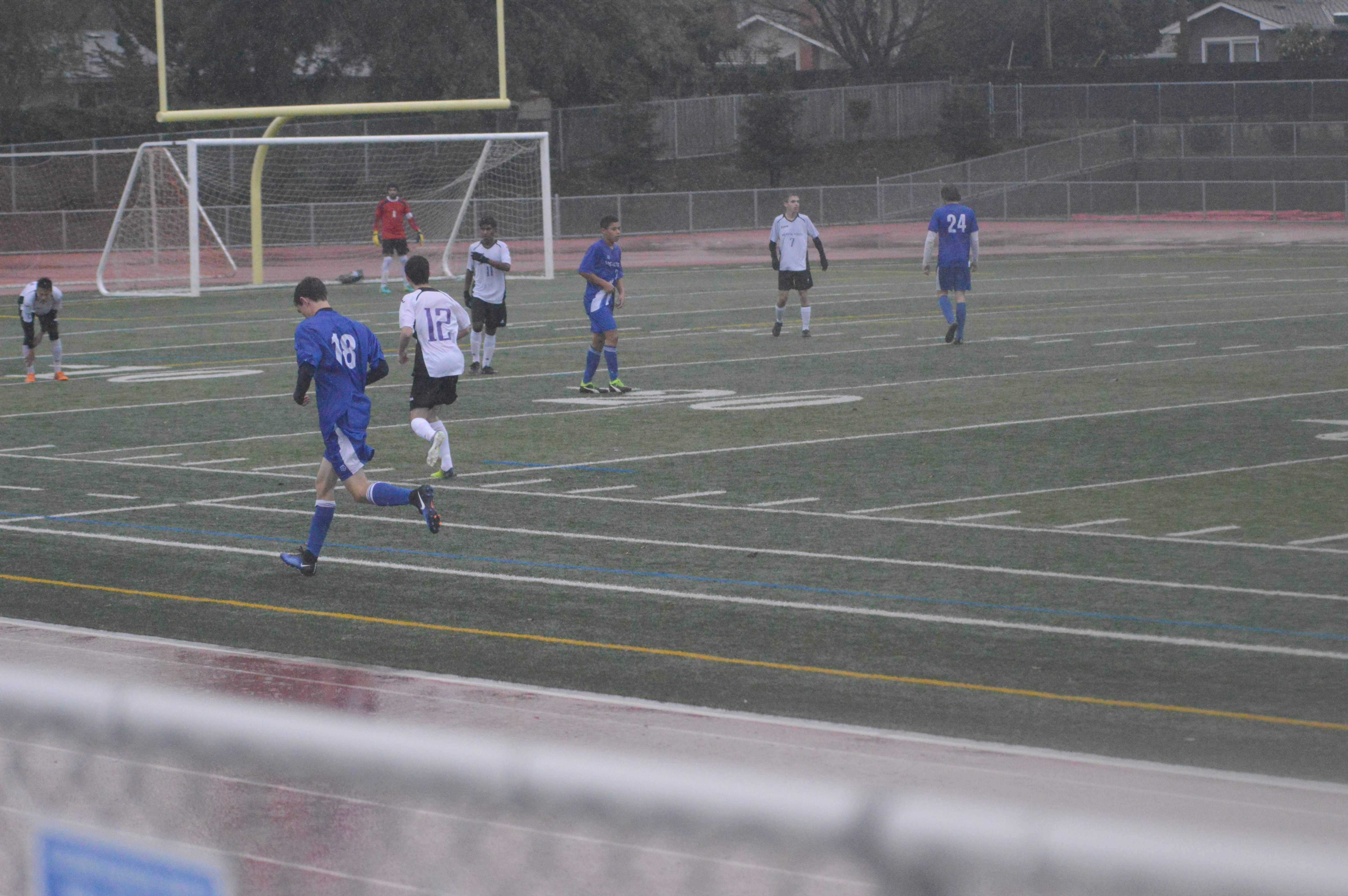 Boys soccer: Team blown out 0-3 against Los Altos HS