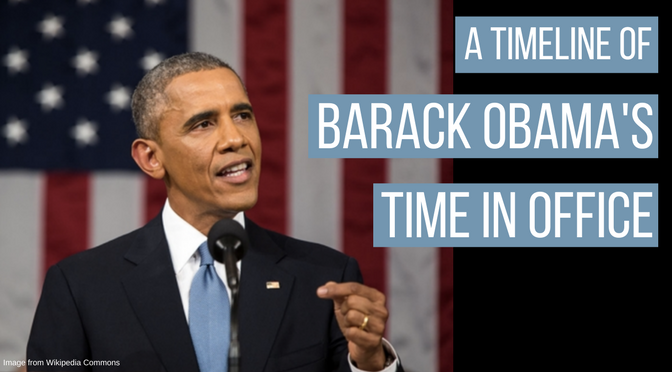 A timeline of President Obama's time in office