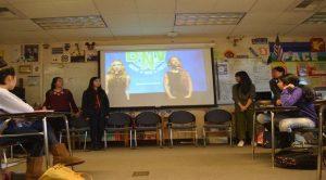 Spoken Word Club takes the stage
