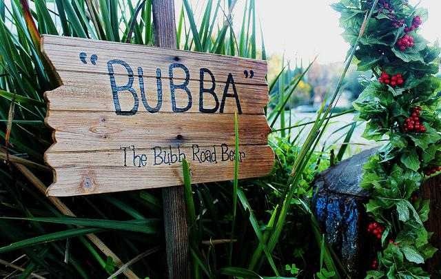 Bubba bearing the community: The story of the drought, a tree and a wooden bear