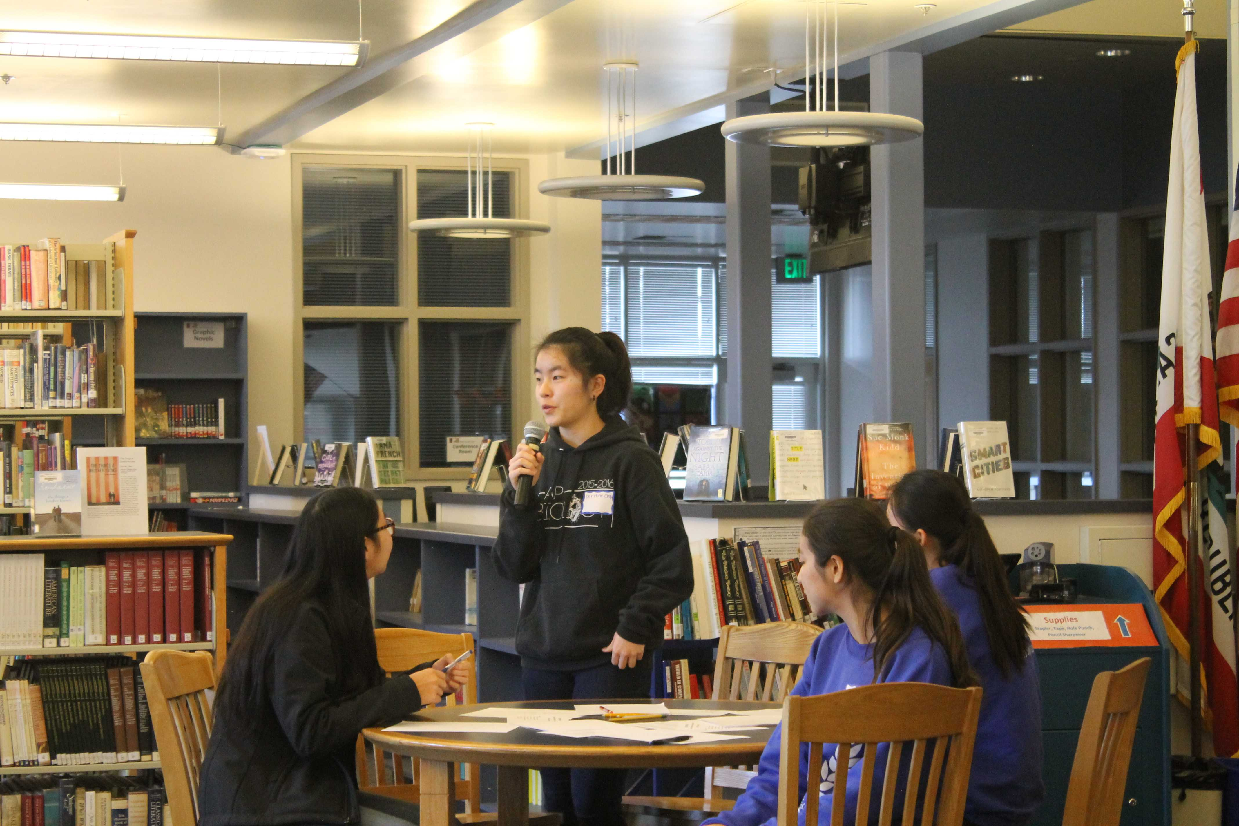 French Honor Society takes part in debate at Lynbrook HS