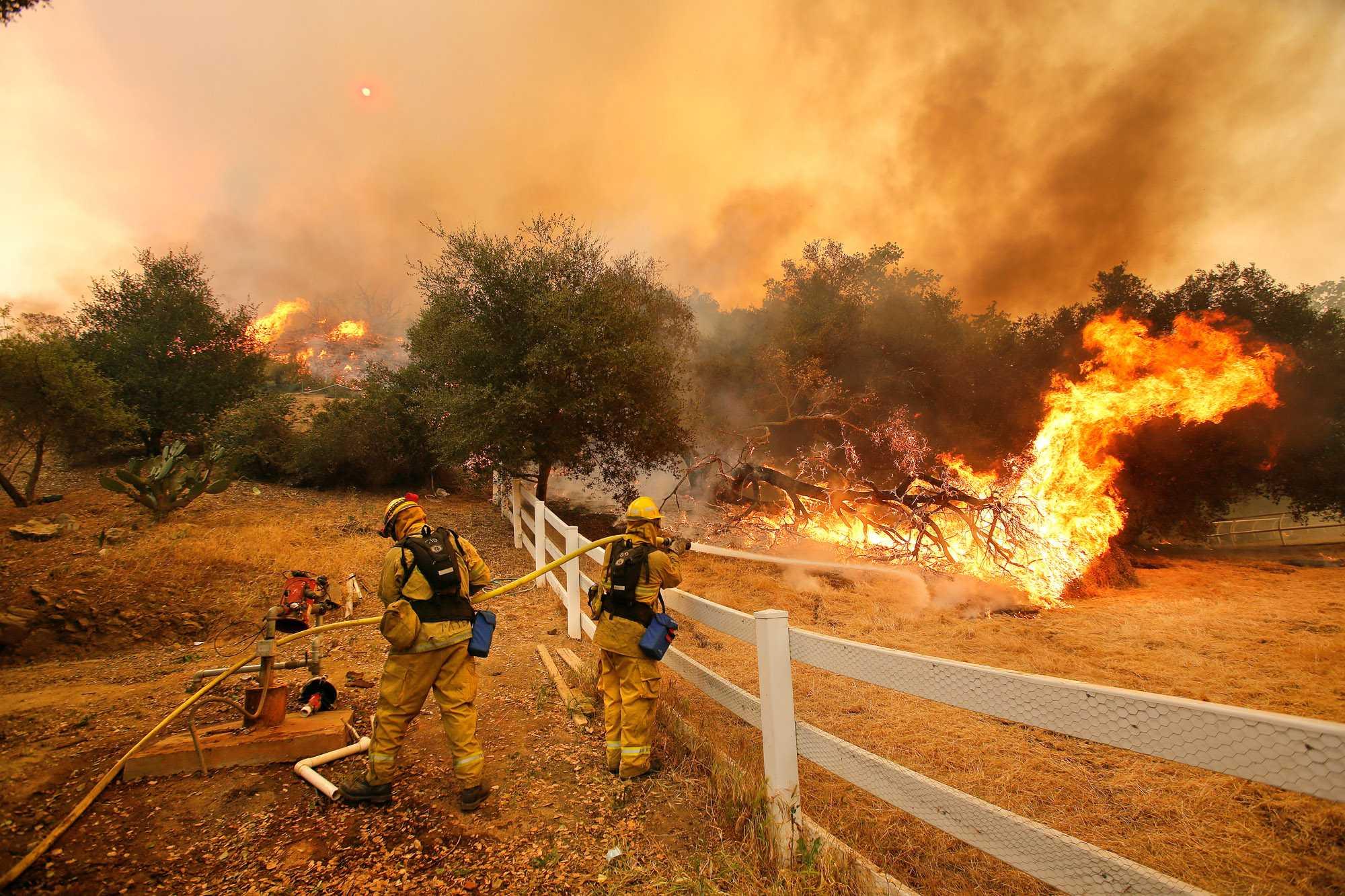 California heat wave: The growing flame