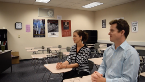 New teacher couple shares their life before MVHS