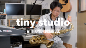 Tiny studio: A chat with saxophonist Brian Lee