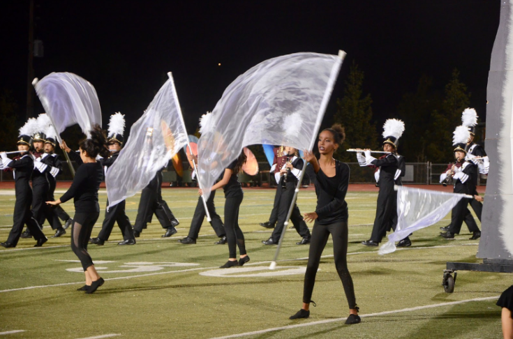 MVHS Marching Band and Color Guard's appearance at the FUHSD Marching Band Expo