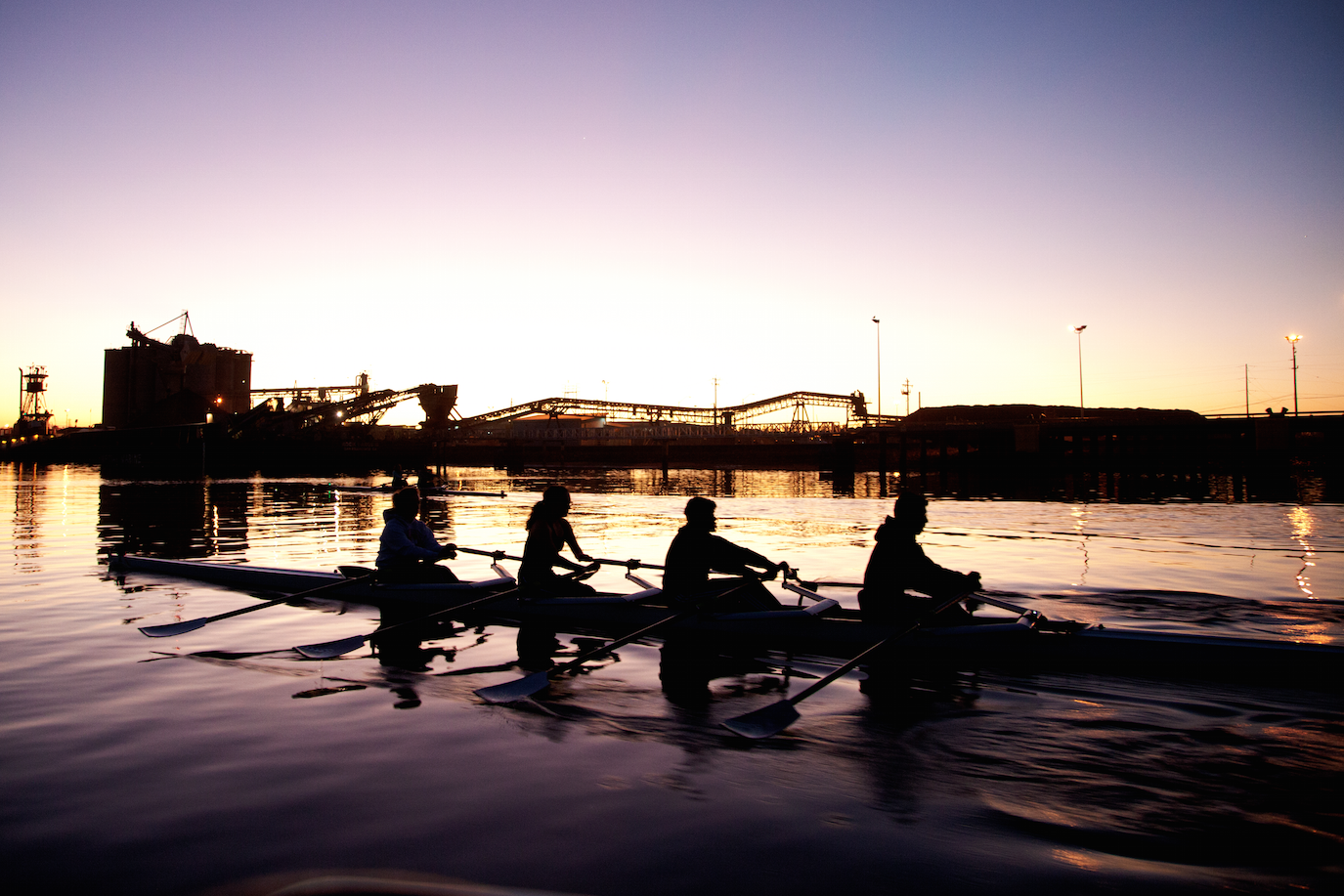 In the same boat: Sophomore Revan Aponso inherits his love for rowing