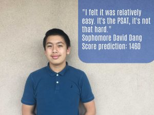 First time testers: PSAT