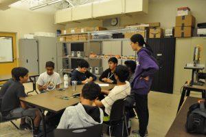 Monta Vista Robotics Team: rookie training begins