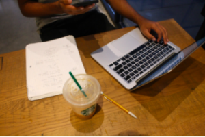 Caffeinated Intelligence: exploring why students study in coffee shops